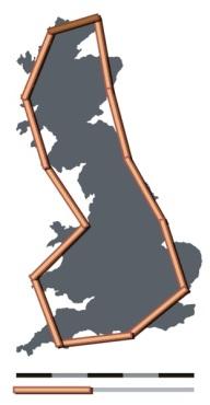 Britain-fractal-coastline-200km